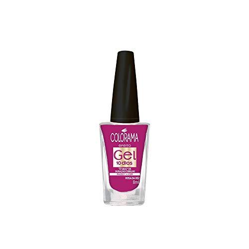 Esmalte Colorama Efeito Gel Rosa da Vez, 8ml