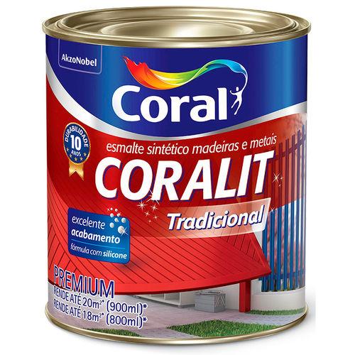 Esmalte Coralit 900ml Acetinado Branco
