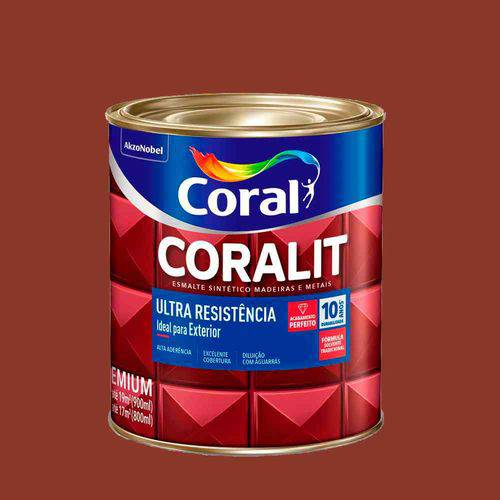 Tudo sobre 'Esmalte Coralit Ultra Resistência 900ml Brilhante'