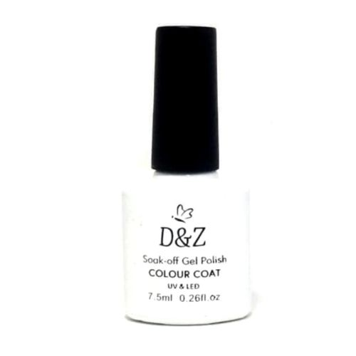 Tudo sobre 'Esmalte Gel D&z Uv Led Branco 7,5 Ml Original'