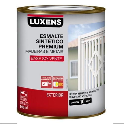 Esmalte Sintético Acetinado Branco 900ml Luxens