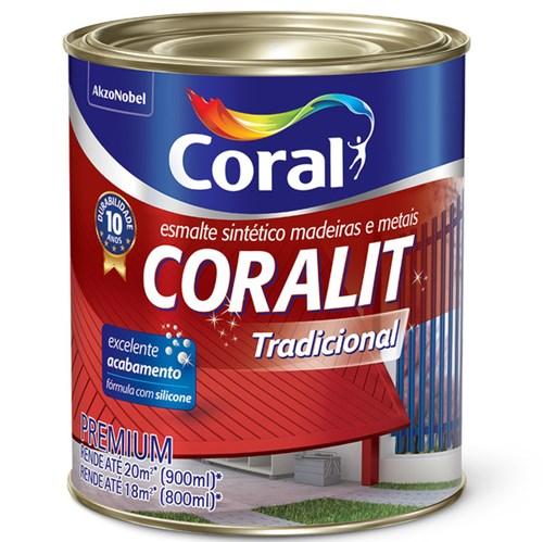 Esmalte Sintético Coralit Acetinado Areia 900ml Coral