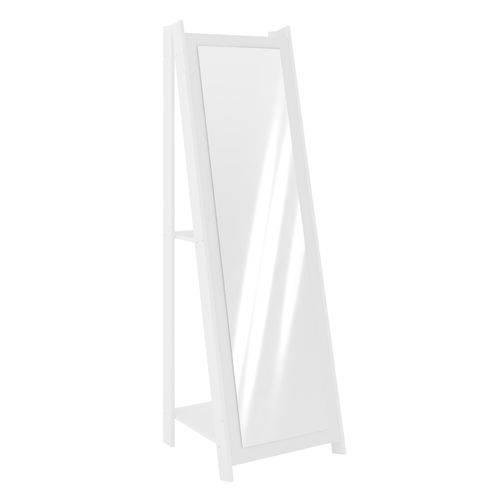 Tudo sobre 'Espelheira 1,61m com 2 Prateleiras - Branco'