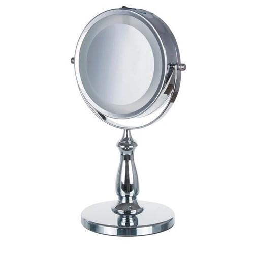 Espelho de Aumento 5X para Mesa com Luz 33CM - 33592