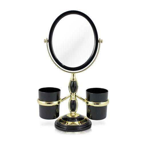 Tudo sobre 'Espelho de Bancada C/ Suportes Laterais'