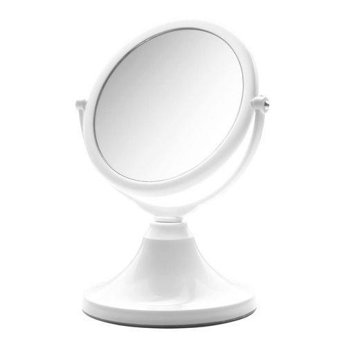 Tudo sobre 'Espelho de Mesa Jolie Branco Dupla Face Modelo 10318'