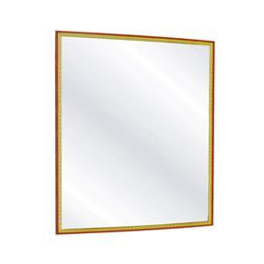 Espelho de Parede 20x25 - Modelo Madeira
