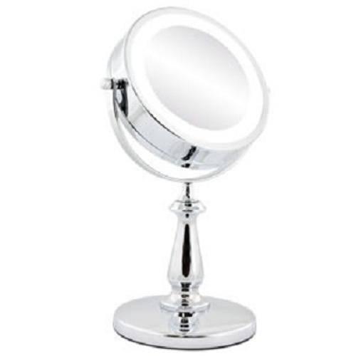 Espelho Iluminado Bancada Banheiro Maquiagem Closed Duplo 5x