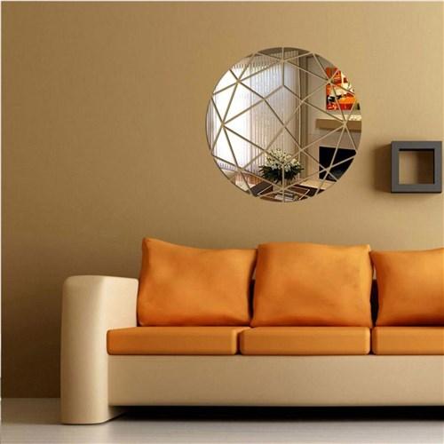 Espelho VNS Acrílico Decorativo Circulo Abstrato
