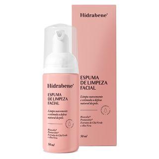 Espuma de Limpeza Facial - Hidrabene 50ml