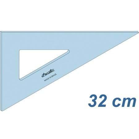 Tudo sobre 'Esquadro Acrilico Trident 2632'