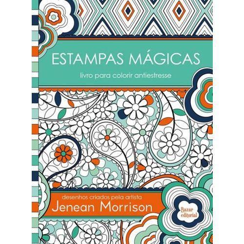 Estampas Magicas - Livro para Colorir Antiestresse
