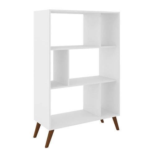 Estante para Livros Baixa Rt 3015 Branco - Móvel Bento