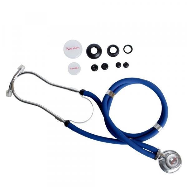 Estetoscópio Rappaport Azul Premium
