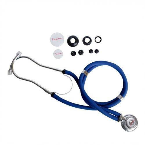 Estetoscópio Rappaport Premium Azul