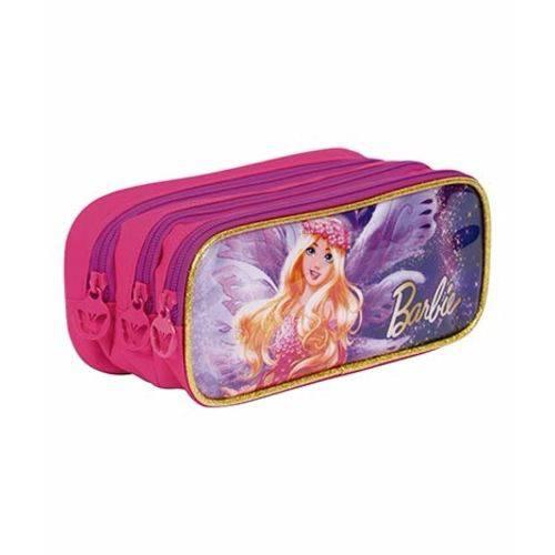 Estojo 03 Compartimentos Barbie Dreamtopia Sestini 064887-00
