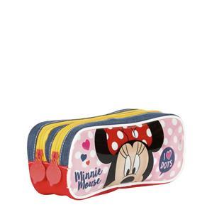 Estojo 02 Compartimentos Minnie 18Y - Sestini