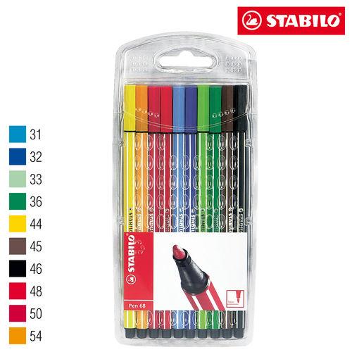 Estojo Caneta Stabilo Pen 6810