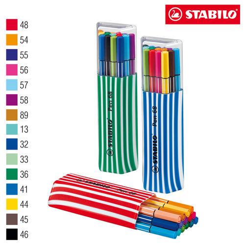 Estojo Caneta Stabilo Pen 6815-01