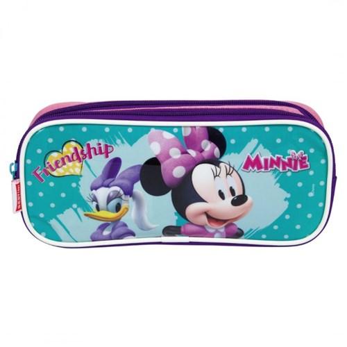 Estojo com 2 Compartimentos Minnie 19M Sestini