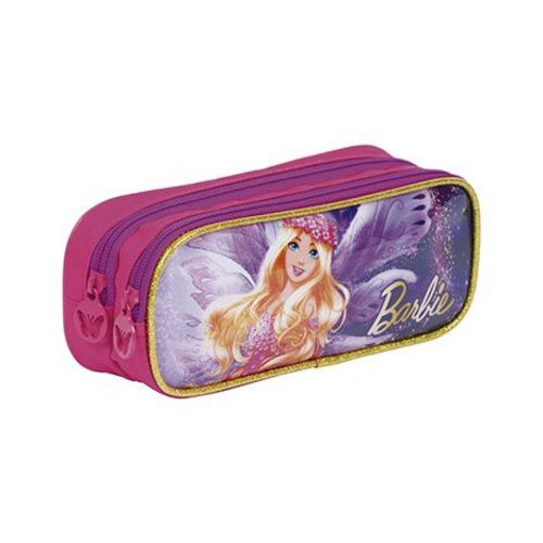 Estojo 2 Compartimentos Barbie Dreamtopia