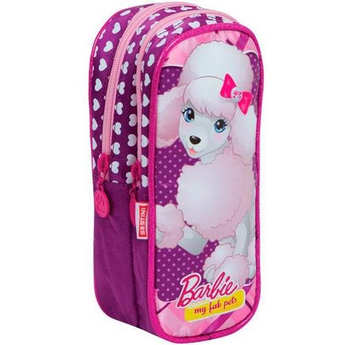 Estojo 2 Compartimentos Barbie Pets Dogs
