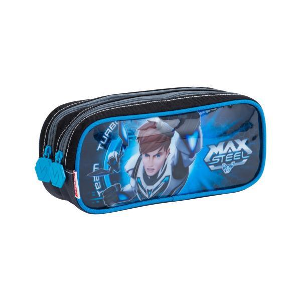 Estojo 2 Compartimentos Max Steel 17Z - Sestini