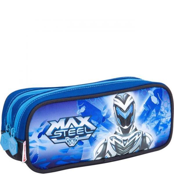 Estojo 2 Compartimentos Max Steel Z - Sestini