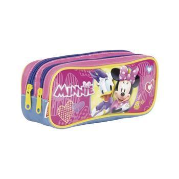 Estojo 2 Compartimentos Minnie 18m - Sestini