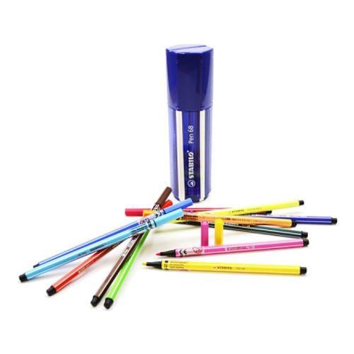 Estojo de Caneta Stabilo Pen 68 20 Cores