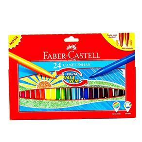 Estojo de Canetinhas 24 Cores Faber Castell