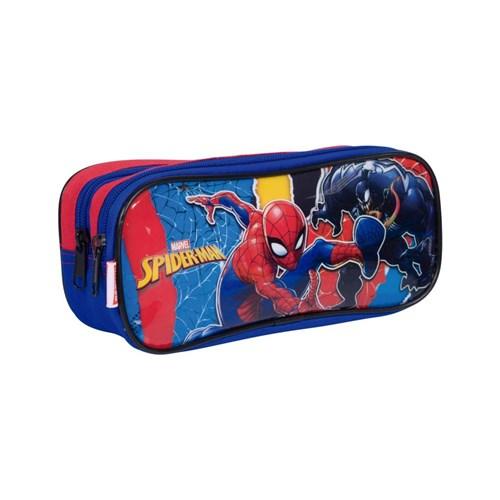 Estojo do Spiderman com 2 Compartimentos Sestini 19M Plus