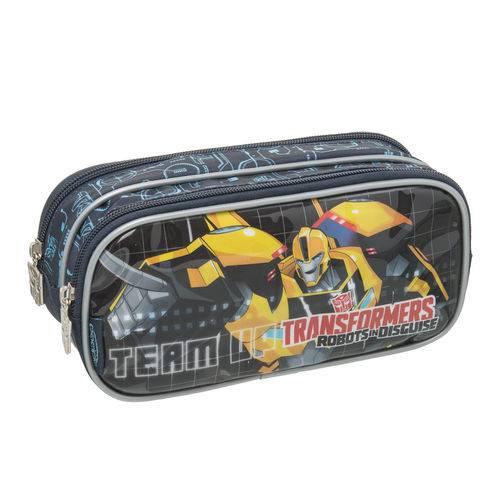 Tudo sobre 'Estojo Duplo Transformers Power Up'