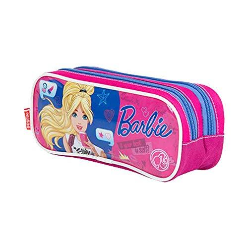 Estojo Escolar Duplo Barbie 17X - Sestini