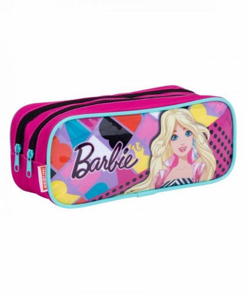 Estojo Escolar Duplo Sestini Barbie 064681-00