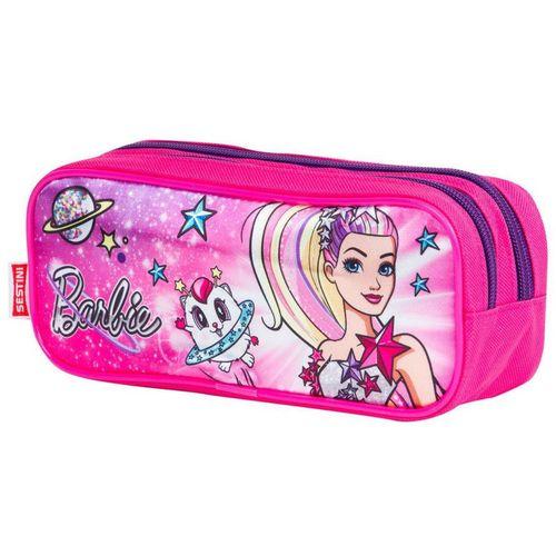 Estojo Escolar Duplo Sestini Barbie 064743-08