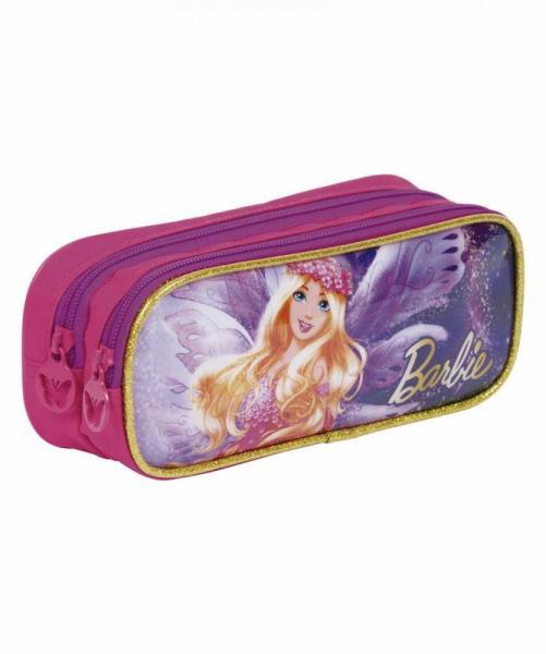 Estojo Escolar Duplo Sestini Barbie Dreamtopia 64888