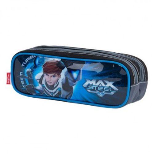 Estojo Max Steel 2 Compartimentos - Sestini
