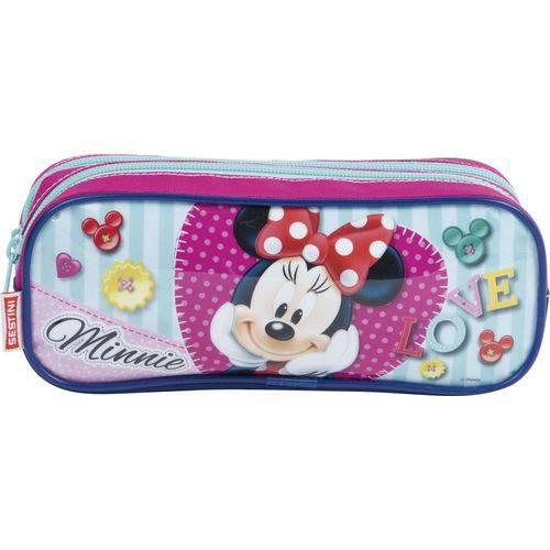 Estojo Minnie 2 Compartimento Sestini 17X