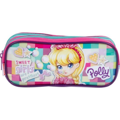 Estojo Polly 2 Compartimentos 17M Sestini