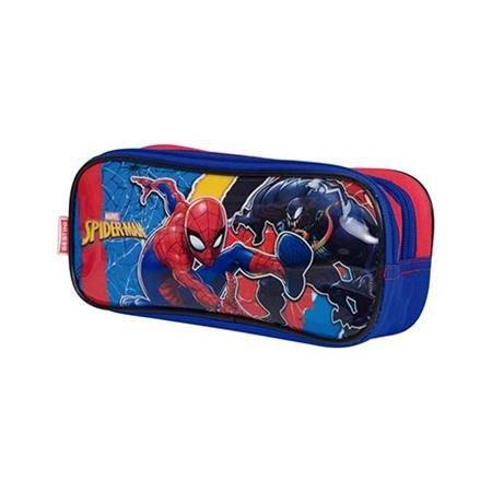 Estojo Sestini 2 Compartimentos Spiderman 19m Plus