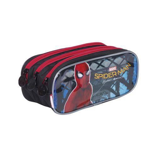 Estojo Triplo Homem Aranha Spiderman 18Z Original Sestini