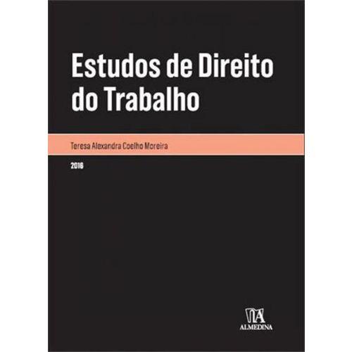 Estudos de Direito do Trabalho - Vol. 1