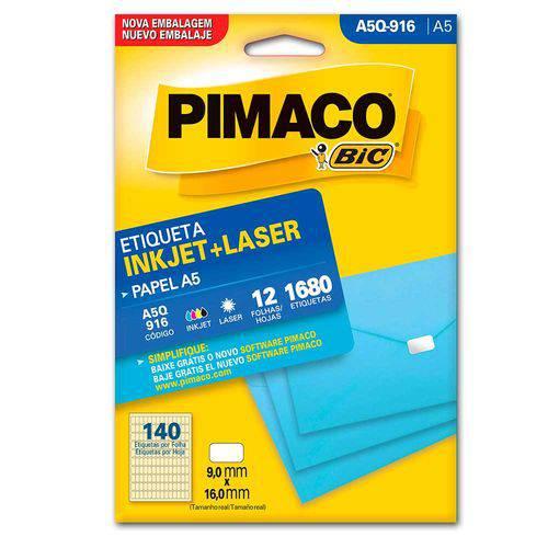 Tudo sobre 'Etiqueta Pimaco A5 Q916'