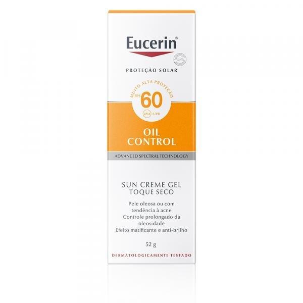 Tudo sobre 'Eucerin Protetor Solar Oil Control FPS60 52g'