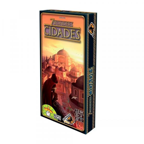 Expansão - Cidades 7 Wonders - Board Game - Galápagos - Galapagos