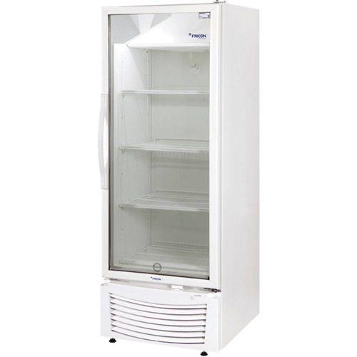 Expositor Refrigerado de Bebidas Fricon Porta de Vidro 402l 220v - Vcfm 402