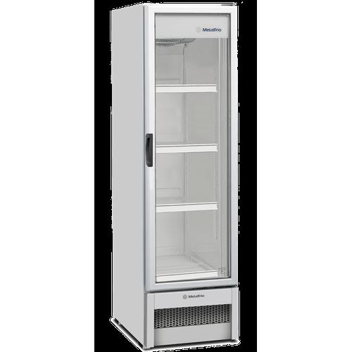 Expositor Refrigerado Vertical Metalfrio 324 Litros Frost Free Porta de Vidro VB28R 220V