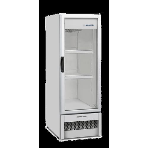 Expositor Refrigerado Vertical Metalfrio 235 Litros Frost Free Porta de Vidro VB25R 220V