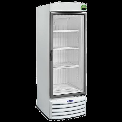 Expositor Refrigerado Vertical Metalfrio, 572 Litros, Frost Free, Porta de Vidro - VB50RE - 220V